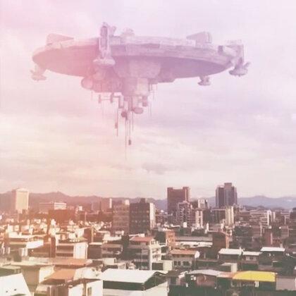 台北天空有飛碟!