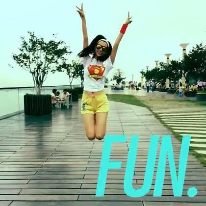 新特效好嗨!快看跳跃奔跑的傻娃!😉