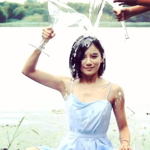 【伊一美拍】#冰桶挑战#