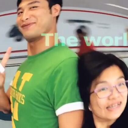 9月17日生日的王生和張太一起去旅行啦!「同行當然有王太和張生啦!😁😁😁」
