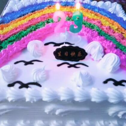 生日虽然已过,但是觉得好开森,那么多祝福心里满满的😊😊#随手拍#