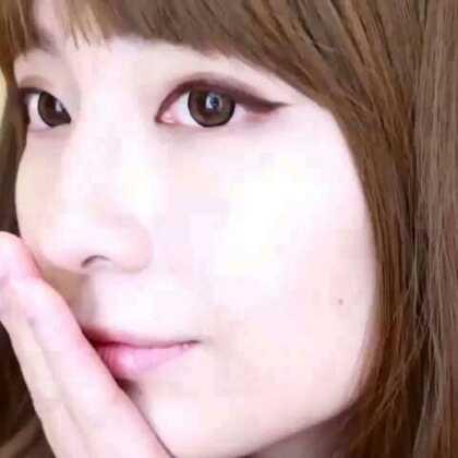"""【韩系女神眼线】韩系妆容的灵魂就在于眼线,看上简单却魅力十足,并不要认为很难画哦,只要多加练习,你同样可以的!详解步骤关注微信""""ihzxly"""",更有更多美妆教程!#美妆#"""