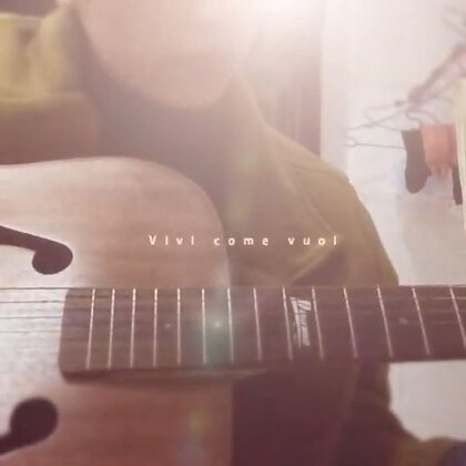 #吉他弹唱#《loving you》❤️ 这首歌可以百度到谱子哦 觉得有点难 我也只会弹这一点点😊