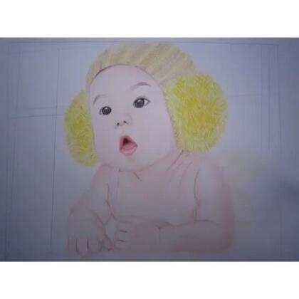 iPad今天终于回了,又能愉快的发视频了。#画画##宝宝#