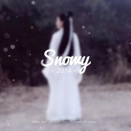 2014最后一天在飞雪中度过❄️2015来迎接#侠女柳若冰#