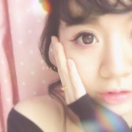 #时尚##彩妆# 韩式风格的妆容 大家喜欢吗😘@朵朵的小窝窝