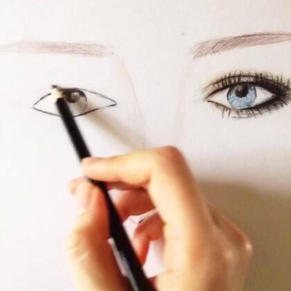 闲着画画手绘图#时尚##手绘图#