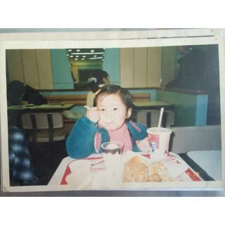 #小时候我长这样#小時候可愛吧。