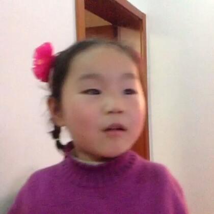 """我家侄女会背老师教的,""""小鸟飞""""👍👍👍"""