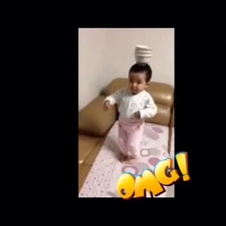 OMG!最牛萌宝宝。#搞笑#哈哈 宝宝太厉害了,#come on!来段rap#长大不得了哟。#舞蹈#🔥