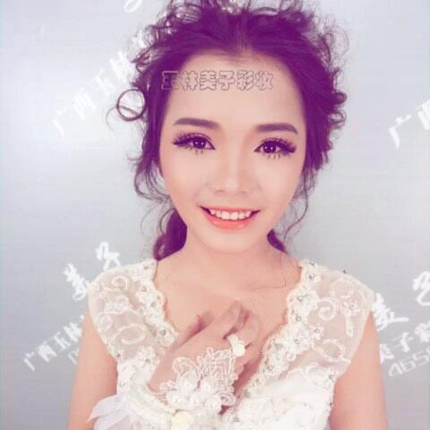 韩式新娘妆容图片