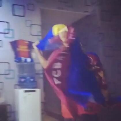 冠军!! 梅西!!! 巴萨!!!😭😭😭😭😭😭❤❤❤❤❤❤