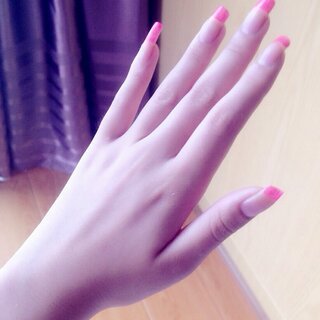 #美手大赛#现在的指甲都剪呢😁