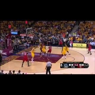 #預測NBA總冠軍#小皇帝蓋火鍋後,單打得分! #季後賽#