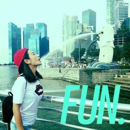 大嘴伊来新加坡找水喝!😁