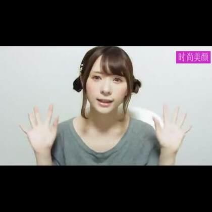 #时尚##化妆##盘发教程#日系可爱羊耳辫子教程!😊💘