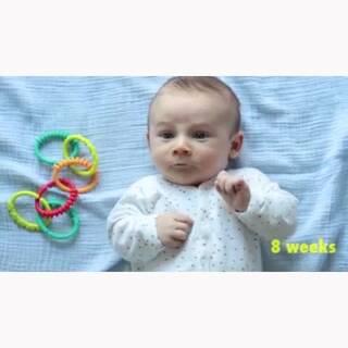 #在韩国超火的视频#143 宝宝的成长过程。不知怎么的看着看着很感人。大家的成长也该跟他差不多😊#宝宝##我要上热门#@美拍小助手