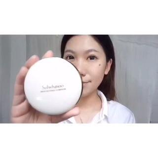 #晒出最爱的底妆产品#达人小爱最喜欢雪花秀气垫粉底,因为遮瑕效果一流,上镜效果也超赞!