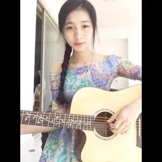 #美拍才女集中营##吉他弹唱##人在旅途洒泪时#