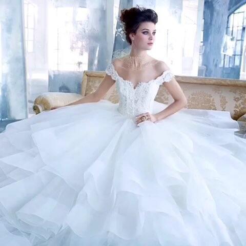 蓬起来的婚纱_蓬裙婚纱图片