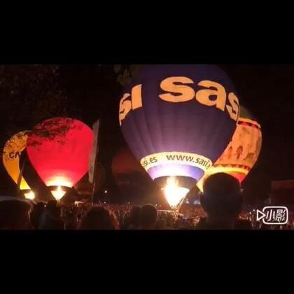 Hot air balloon festival#热气球##巴塞罗那#