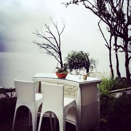 听雨声,花临海
