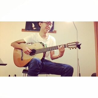 歌词唱错了😂#默##周杰伦##吉他弹唱##中国好声音##唱歌#