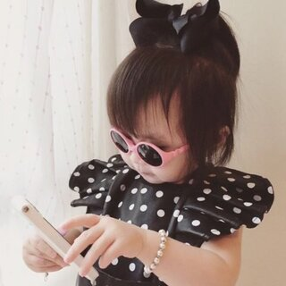 ❤510D,16+22。😋萌萌哒蝴蝶结宝宝 #宝宝##superbaby##单眼皮大赛##蝴蝶小公主# 淘.宝:cute小千千宝宝 微.信:kuinababy