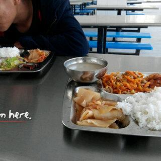 #最难吃的东西#学校的食堂饭