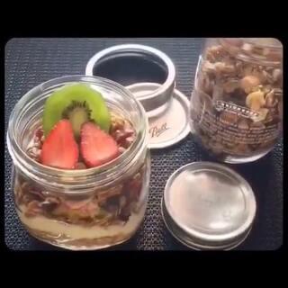 燕麦水果营养美食DIY #最好吃的东西##美食##周四#