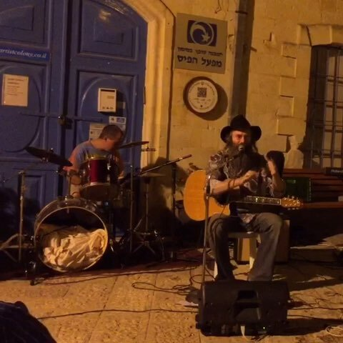 【苏芩美拍】以色列萨法德小镇的夜生活。纯澈...