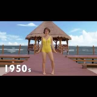 从1890-2015年间,比基尼的发展史~看看性感热辣的变化吧!#美妆时尚##热门#