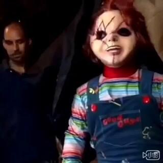 #整蛊##搞笑##逗比#自从看了这部电影.最怕类似这种的娃娃.没有之一😱晚点更新.点赞哦😜