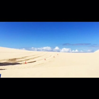 #旅行##澳洲##自驾游#Port Stephens-Anna Bay滑沙