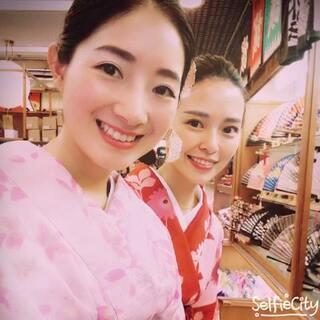 Trip in Kyoto. #在路上##小小美好##和服少女##微笑#👘