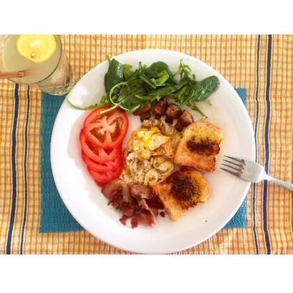 #美食#汇总一下近期早餐吧(照片大部分都导电脑上了 偷了个懒 直接从微博copy图片过来了)