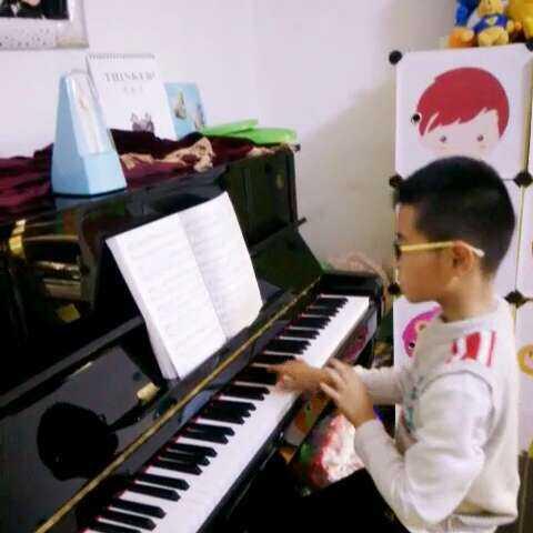 钢琴曲#《北风吹》