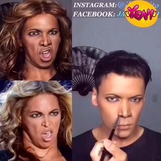 #那些逆天的化妆教程#震惊了!!!