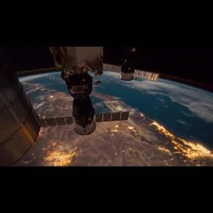 #涨姿势#从国际空间站看地球,夜空太美!