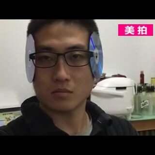 哈哈哈哈 最后邪魅一笑亮了。😂只要你有眼镜、两个光盘,就能成为光盘侠,大家快加话题#光盘侠#,一起来玩吧!