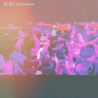 1.1.2016 Adam Lambert at countdown 2016 party #celebrate2016##singapore##adamlambert##farewell2015##hello2016#