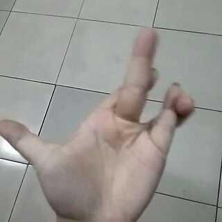 #xx手指挑战#我也来玩玩,手指太短了😁