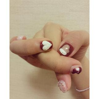#xx手指挑战##美甲#这个看的清楚 你们喜欢可以带图去做 这回真的晚安