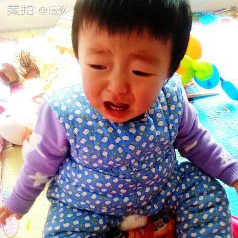 宝宝哭的很伤心