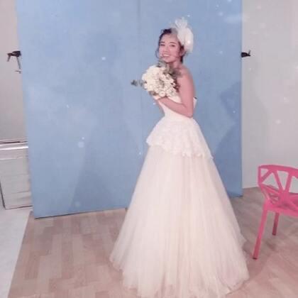 #最美的新娘#今天你要嫁给我.看到11穿婚纱小鹿乱撞@伊一