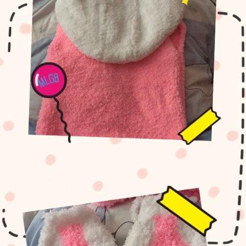兔宝的手工编织,绒绒线兔子马甲