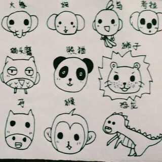 画画不太好,不喜欢别喷#画画##随手画##绘画动物