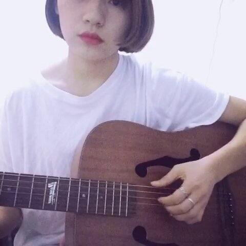 【H_PZ美拍】#音乐##吉他弹唱##韩语歌#今天撸...