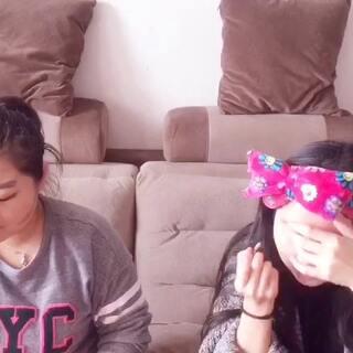 #没有镜子挑战赛##没有镜子挑战化妆#看了两个U乐国际娱乐@Jiaruqian86 @彩妆师Juneaffer 的比赛。我们也来玩一下😂(下)