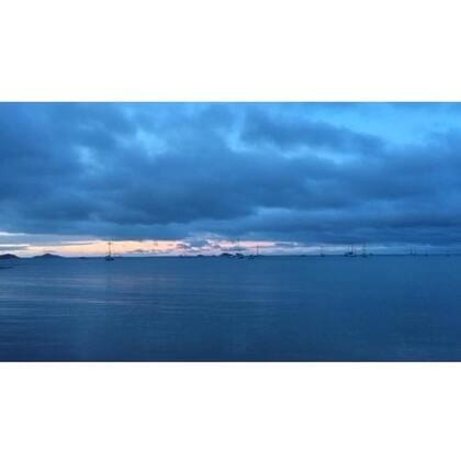 #旅行##圣灵群岛#2016.2.7.宁静的傍晚-于Airlie Beach
